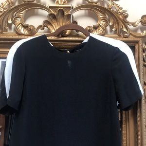 BCBGMaxAzria Tops - Black and white blouse by BCBG Max Azria